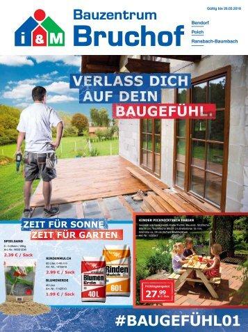 i&M Bauzentrum Bruchof: #Baugefühl01