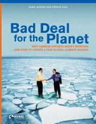 Bad Deal for the Planet - Greenhouse Development Rights