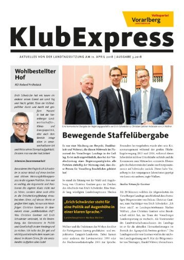 Klubexpress April 2018