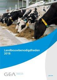 GEA Landbouwbenodigdheden 2018