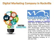 Rockville Digital Marketing Company