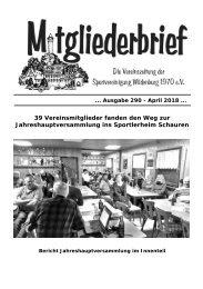 Ausgabe 290 - April 2018