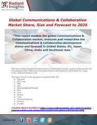Global Communications & Collaboration Market Share, Size and Forecast to 2025