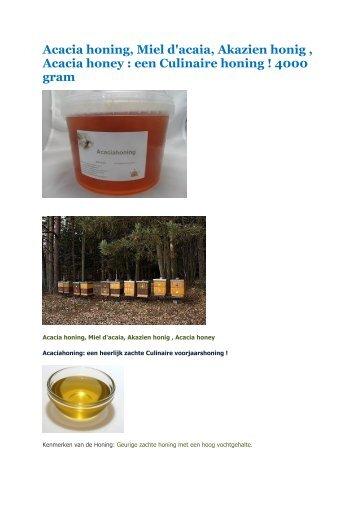 4 kg honing 1