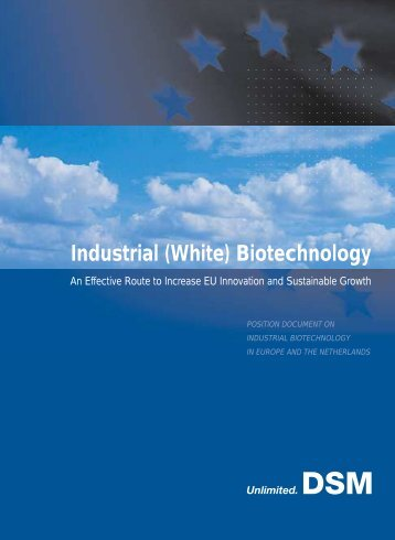 Industrial (White) Biotechnology - B-Basic