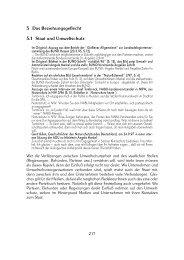 5.1 Filz zwischen Umweltverbänden und Staat - Projektwerkstatt