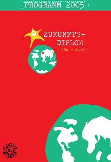 Programm zum Zukunfts-Diplom 2005 (PDF 3MB)