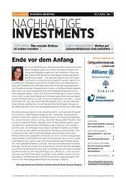 Business-Briefing - Handelsblatt
