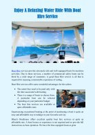 Enjoy A Relaxing Water Ride With Boat Hire Service - Page 2