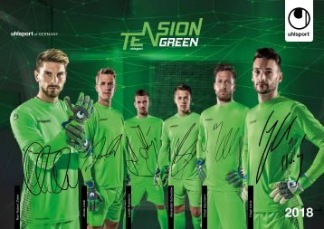 uhlsport Goalkeeper Katalog 2018