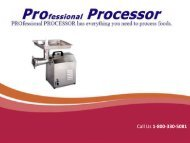 Finding the Best Commercial Meat Grinders at ProProcessor.com