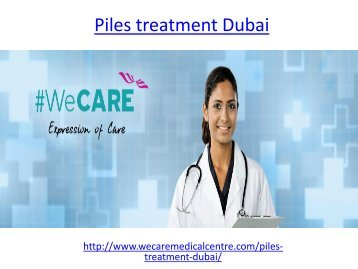 Hire specialist for piles treatment in dubai