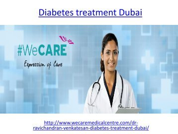 Best Hospital for diabetes treatment in Dubai