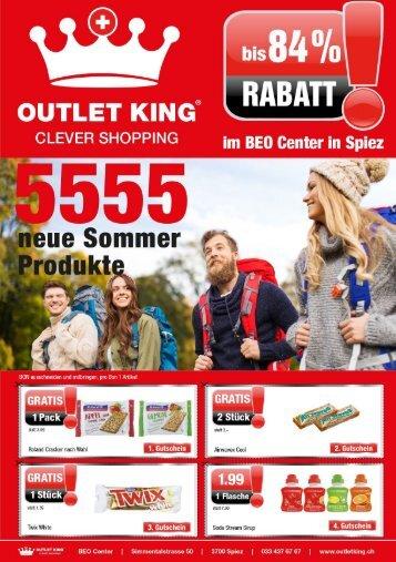Outlet King Spiez - Flyer April 2018