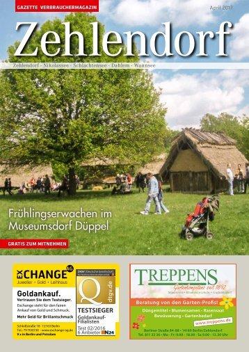 Gazette Zehlendorf April 2017