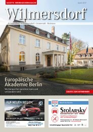 Gazette Wilmersdorf April 2017