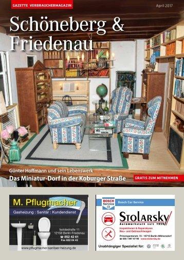 Gazette Schöneberg & Friedenau April 2017