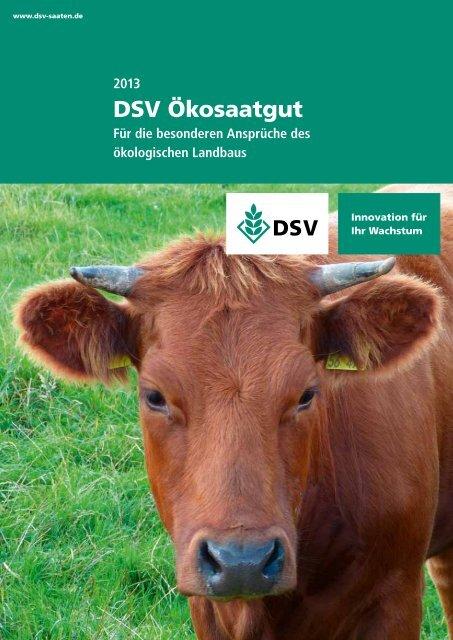 DSV Ökosaatgut - Für die besonderen Ansprüche des ökologischen