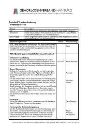 2017-11-01 Protokoll Vorstandssitzung GLVHH - öffentlicher Teil