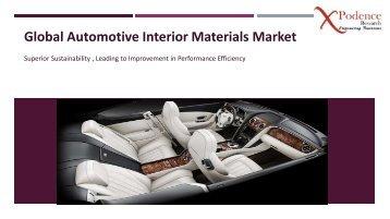 Global Automotive Interior Materials Market 2018