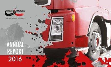 Trucking Wellness Programme Annual Report 2016