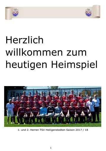 2018_04_14 (Ausgabe 15) Juliankadammreport 25. Spieltag gg. Lägerdorf II