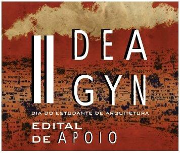 EDITAL DE APOIO - II DEA GYN
