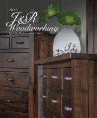 J&R Woodworking 2018 catalog
