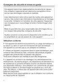 Miele K 32222 i - Mode d'emploi et instructions de montage - Page 4