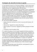 Miele K 32222 i - Mode d'emploi et instructions de montage - Page 6
