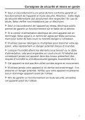 Miele K 32222 i - Mode d'emploi et instructions de montage - Page 7