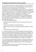 Miele K 35683 iDF - Mode d'emploi et instructions de montage - Page 6