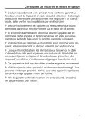 Miele K 35683 iDF - Mode d'emploi et instructions de montage - Page 7