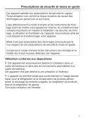 Miele KFNS 28463 E - Mode d'emploi et instructions de montage - Page 5