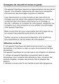 Miele K 32242 iF - Mode d'emploi et instructions de montage - Page 4