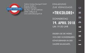 Tricolore Einladung