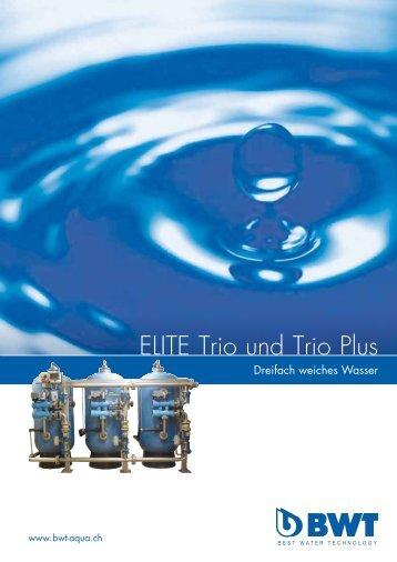 ELITE Trio und Trio Plus - CHRIST AQUA AG
