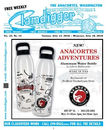 The Clamdigger April 12 - 18, 2018