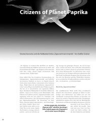 Citizens of Planet Paprika - Hinterland Magazin