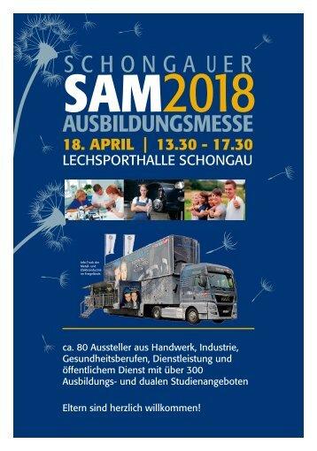 SAM2018 - Sonderteil im Münchner Merkur