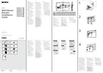 Sony KDL-42W656A - KDL-42W656A Guide d'installation Letton