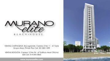 Murano Elite Condominio presentado por Rafael Enrique Perez Lequerica