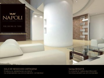 Napoli Condominio presentado por Rafael Enrique Perez Lequerica