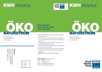KWHökoplus KWHökoplus - Kraftwerke Haag