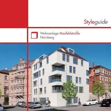 Styleguide_Nürnberg_Maxfeldstraße