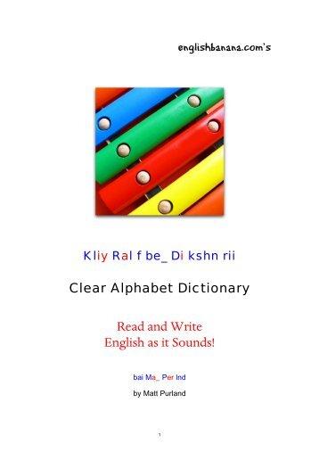 14-Clear-Alphabet-Dictionary
