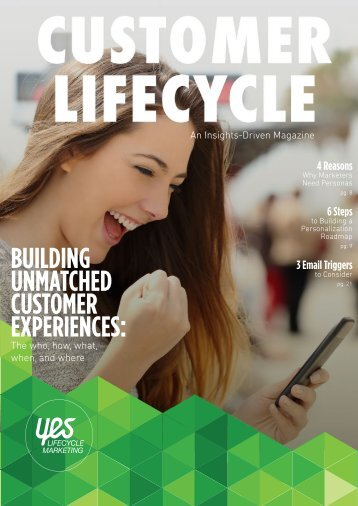 Customer Lifecycle An Insights-Driven Magazine