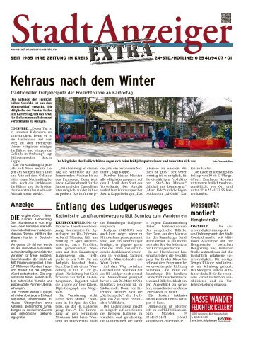 Stadtanzeiger Extra kw 15