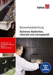 ökoplast® 1k - Heinrich Hahne GmbH & Co. KG