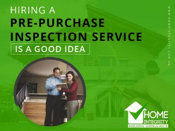 Why Hire Home Inspections Service in Perth